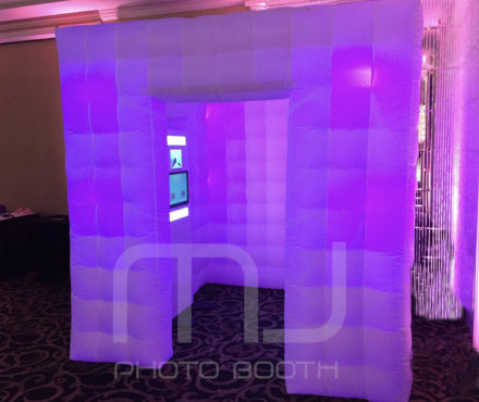 *MJ INFLATABLE BOOTH RENTAL CHICAGO